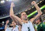 Europos taurės krepšinio turnyro rungtynėse Manto Kalniečio komanda nugalėjo Mariaus Runkausko klubą