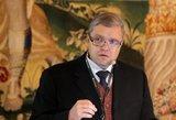 """V. Vasiliauskas įvertino pasaulinės ekonomikos tendencijas ir """"Deutsche Bank"""" krizę"""