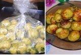Neįmanoma atsispirti taip keptoms bulvytėms: ant stalo nespės atvėsti