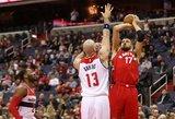 NBA naktis. Keturi lietuviai, kartu sudėjus, rungtyniavo 31 minutę
