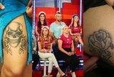 """Pikantiška galerija: """"2 Barai"""" dalyviai parodė net slapčiausias tatuiruotes"""