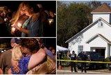Po skerdynių bažnyčioje JAV, naujos šokiruojančios detalės: miestas paskendo aimanose