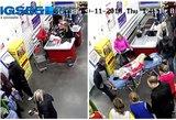 Rusė pagimdė stovėdama žemų kainų parduotuvėje prie kasos