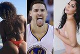 NBA čempiono atostogos: draugai, jachtos ir apvalūs modelių užpakaliukai