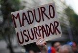 Įtampa Venesueloje neslūgsta, o prezidentas nori derybų