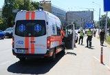 Tragiška moters lemtis Varėnoje – įtariama, prispaudė konteineris