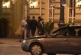 Robbie Williamsas slapta įamžintas Vilniaus gatvėse
