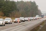 Artėja Vėlinės ir vairuotojų kantrybės išbandymas