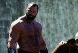 """Prestižinėse galiūnų varžybose – """"Sostų karų"""" Kalno triumfas ir pasipylęs ruso kraujas"""