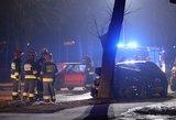 Praneša apie nelaimę Lenkijoje, į kurią pateko lietuvių automobilis: yra žuvusių