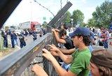 Vengrijoje areštuoti 174 migrantai, įsigaliojus naujam griežtesniam įstatymui