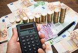 Finansų viceministrė: darbdavių noras mažinti darbo mokesčius kainuotų 0,5 mlrd. eurų