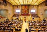 Lietuvos Nepriklausomybės atkūrimo diena minima Seime: iškilmingos kalbos
