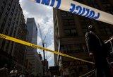 """Niujorko užpuolikas yra """"IS karys""""?"""