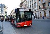 Vilnius naujinasi: perka 50 autobusų, išleis dešimtis milijonų