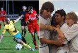 Žvaigždynas: kaip Romario, Stevenas Gerrardas, Luka Modričius Lietuvoje žaidė