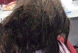Depresija sirgusios merginos plaukų transformacija užgniauš kvapą
