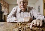 Pensijos lietuviams augs tik su viena sąlyga