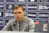 Jankauskas paskelbė Lietuvos futbolo rinktinės sudėtį rungtynėms su Serbija ir Rumunija