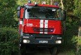 Dėl elektrinio šildytuvo kilęs gaisras Telšių rajone pražudė du žmones
