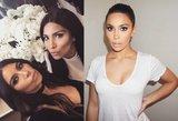 Kuri yra kuri? Internetas dūzgia dėl naujausios Kim Kardashian antrininkės