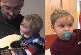 Su klastinga liga kovojančio dvimečio Teodoro šeimoje –  jaudinančios žinios