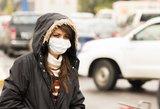 Būkite atsargūs: dėl gaisrų oras užterštas, specialistai ragina likti namuose