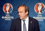 Po apklausos paleistas buvęs UEFA prezidentas