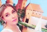 Aktorė Aušra Štukytė pademonstravo vestuvinę suknelę