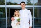 Džiugi žinia: Simonas Storpirštis vedė mylimąją