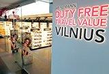 """Vilniaus oro uoste įsikūrusiame """"Duty Free"""" – permainos"""