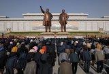 Šiaurės Korėja mini Saulės dieną – valstybės įkūrėjo gimtadienį