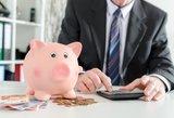 Penki bankai taikė per didelius įkainius tarptautiniams mokėjimams