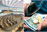 Seimas narsto pensijų reformą: linkstama link automatinio įtraukimo