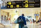Oro uoste – aliarmas: keleivis gabeno sprogstamąją medžiagą