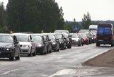 Žinia vairuotojams: spartinami kelio Vilnius – Utena darbai