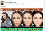 Vieno veido: garsios moterys aiškinosi, į ką yra panašios