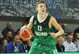 """Ballus nustelbusiam lietuviui – žinutė iš """"Boston Celtics"""""""