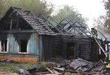 Drama Vilniuje: iš griaunamo namo išsikraustyti nenorėjęs vyras jį padegė ir sudegė pats