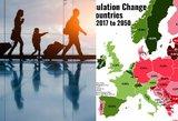Liūdna prognozė Lietuvai: įvertino, kada neliks nė 2 milijonų žmonių