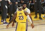 """""""Lakers"""" pergalės fone – žibėjęs Davisas ir nuvylęs Russellas"""