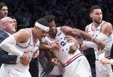 NBA lygoje – masinės krepšininkų muštynės