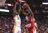 """Rockets"" pergalės negarantavo pusšimtis Jameso Hardeno taškų"