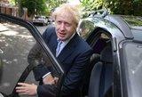 Per pirmąjį JK Konservatorių lyderio rinkimų etapą pirmauja Borisas Johnsonas