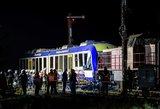 Vokietijoje – kruvina diena: traukinių susidūrimas virto tragedija