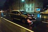 Girtas prokuroras Vilniuje padarė avariją