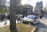 Vilniuje – pavėžėjo avarija: nukentėjo paauglė mergaitė