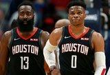 "Hardenas su Westbrooku nukalė ""Rockets"" pergalę prieš ""Clippers"""