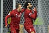"""Karštas futbolo vakaras: """"Liverpool"""" pergalės gali neužtekti, """"Tottenham"""" likimas spręsis Barselonoje"""