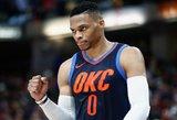 NBA lygoje – trigubi Pau Gasolio ir Russello Westbrooko dubliai